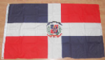 Dominican Republic Large Country Flag - 3' x 2'.